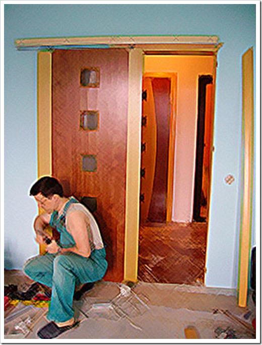 Установка двери в ванную комнату своими руками с фото пошаговое