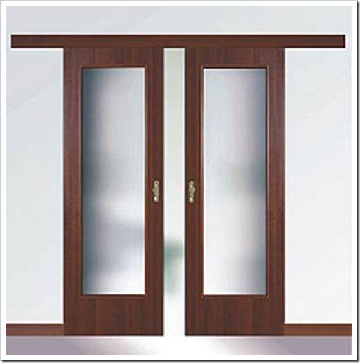 Установка двустворчатых межкомнатных дверей
