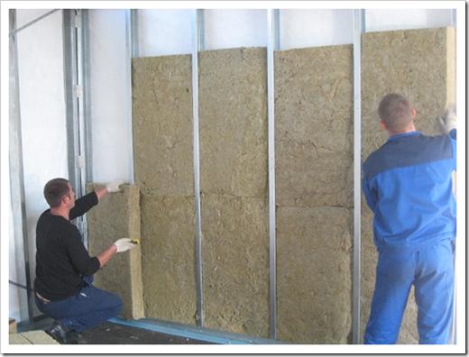 Толщина минеральной ваты для утепления стен