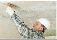 Как шпаклевать потолок на покраску?