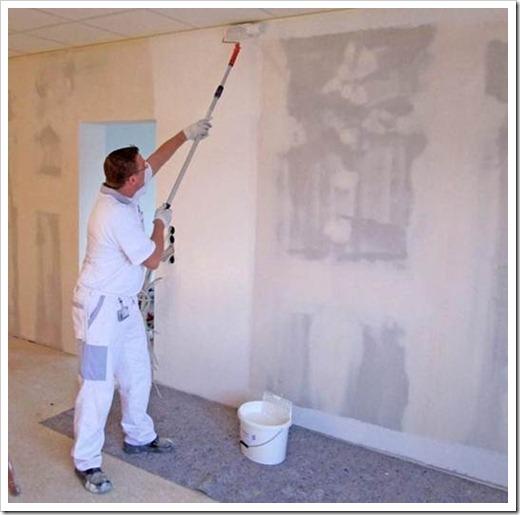 Подготовка гипсокартона под покраску