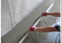 Технология цементной стяжки пола своими руками