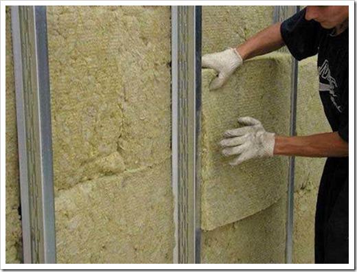 Как утеплить стены под гипсокартоном