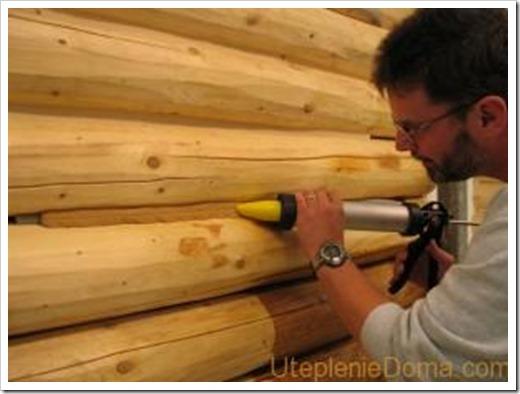 Утепление стен деревянного дома изнутри.