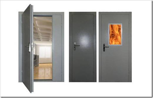Как установить противопожарную дверь?