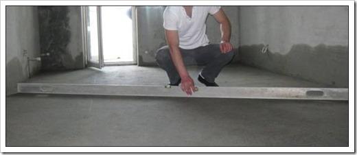 Как выровнять стяжку под ламинат?
