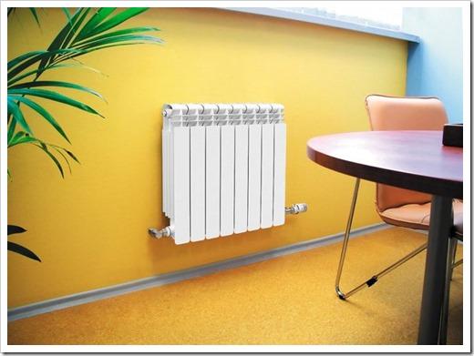 Расчет батареи отопления для комнаты