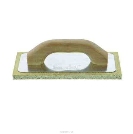 Купить Терка штукатурная Kapriol с твердой губкой и деревянной ручкой, 14 см х 21 см