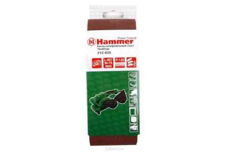 Купить Лента шлиф. Hammer Flex 212-005 75 Х 457 Р 120 по 3 шт.