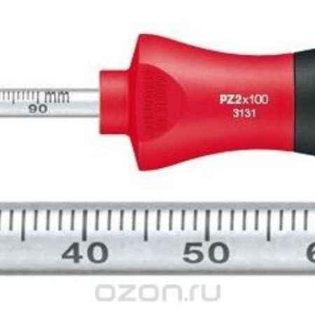 Купить Отвертка SoftFinish PZ2x100 Laserskala Wiha 35399