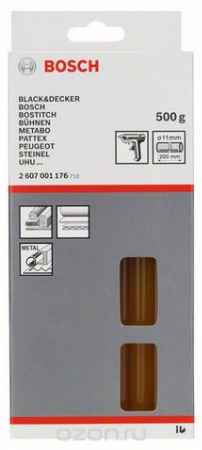 Купить Клеевой стержень Bosch 2 607 001 176, желтый, натуральный