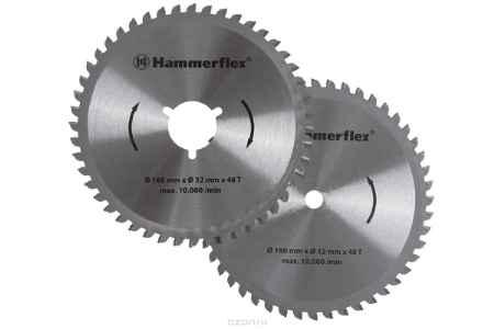 Купить Набор дисков Hammer Flex 206-161 для пилы универсальной, двухдисковой Hammer Flex CRP1501