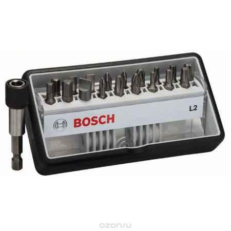 Купить Набор бит Bosch с быстрозажимным держателем, 19 предметов