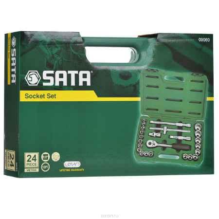 Купить Набор торцевых головок SATA 24пр. 09060