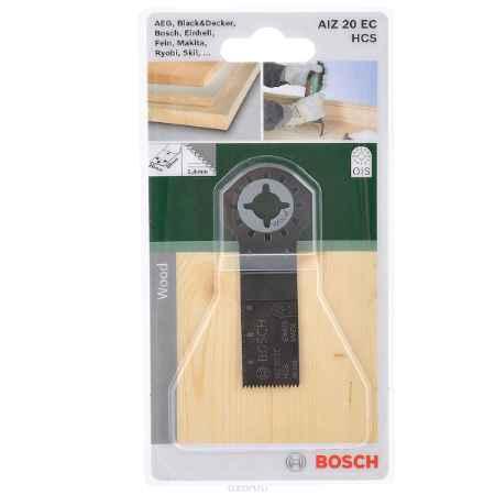 Купить Пильное полотно по дереву Bosch HCS, для PMF 180, 20х30 мм