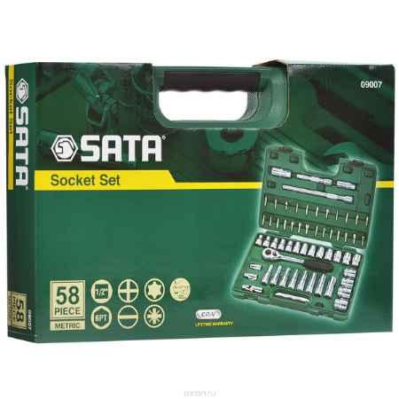 Купить Набор торцевых головок SATA 58пр. 09007