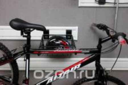 Купить Стойка для велосипеда вертикальная ГР-028 , цвет: красный