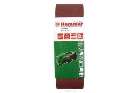 Купить Лента шлиф. Hammer Flex 212-010 75 Х 533 Р 100 по 3 шт.