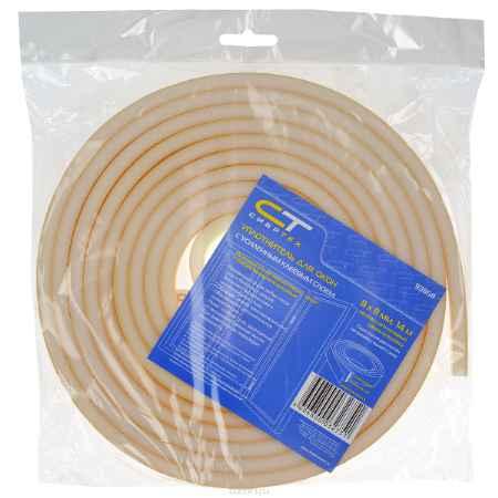 Купить Уплотнитель для окон Сибртех, с усиленным клеевым слоем, 8 х 8 мм, длина 14 м