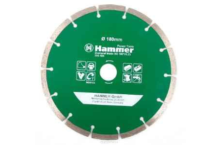 Купить Диск алм. Hammer Flex 206-104 DB SG 180*22мм сегментный