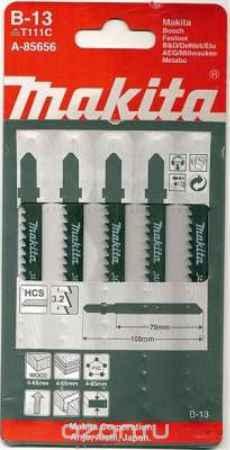 Купить Полотно пильное для электролобзика Makita A-85656, по дереву, 5 шт