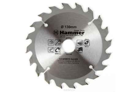 Купить Диск пильный Hammer Flex 205-101 CSB WD 130мм*20*20/16мм по дереву