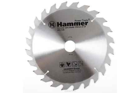 Купить Диск пильный Hammer Flex 205-126 CSB WD 250мм*24*32/30мм по дереву