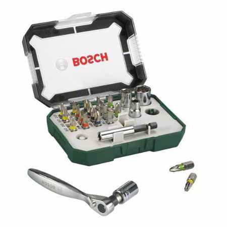 Купить Набор бит-26 с ключом-трещеткой Bosch PROMOLINE 2607017322