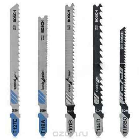 Купить Набор лобзиковых пилок Bosch Set T-ХВ 2609256746, 10 шт