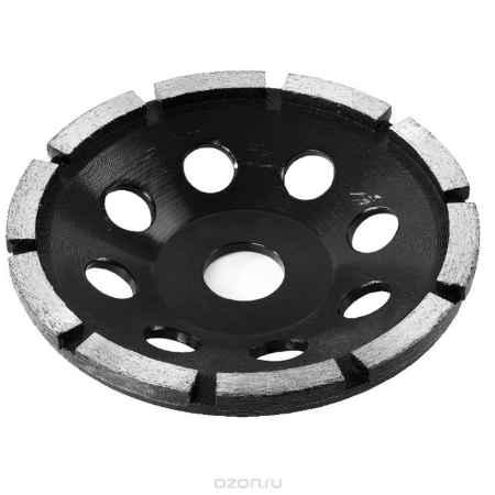 Купить ЗУБР Эксперт чашка алмазная сегментная однорядная, высота 22,2 мм, 125 мм