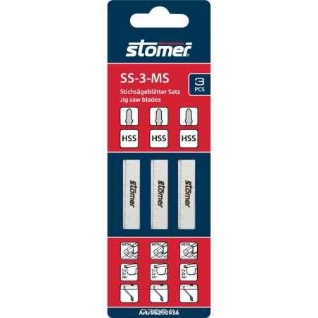 Купить Набор пилок для электролобзика Stomer
