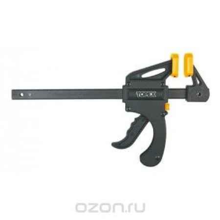 Купить Струбцина Topex, автоматическая, 60 х 6 см