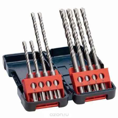 Купить Сверла Bosch SDS-plus 8 шт. Tough Box 5-10 мм 2607019903