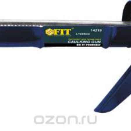 Купить Пистолет для герметика FIT полукорпусный, зубчатый шток, 225 мм