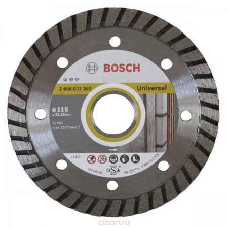 Купить Универсальный алмазный диск Bosch Turbo, 115 мм