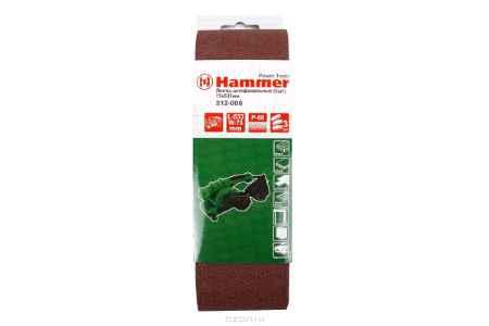Купить Лента шлиф. Hammer Flex 212-008 75 Х 533 Р 60 по 3 шт.