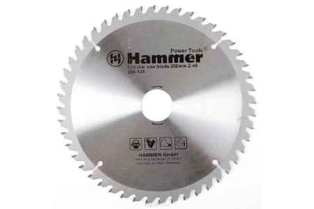 Купить Диск пильный Hammer Flex 205-125 CSB WD 200мм*48*32/30мм по дереву