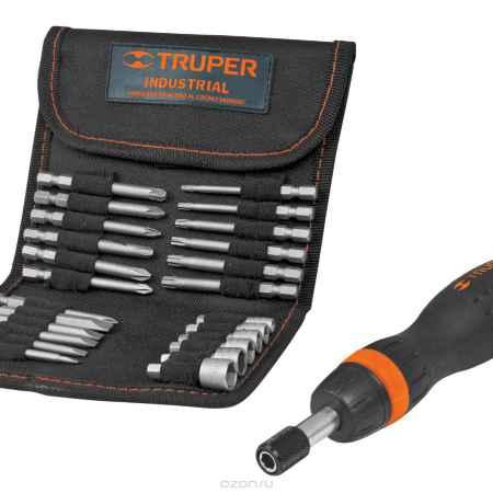 Купить Отвертка с трещоткой и битами Truper JDM-26, 26 предметов