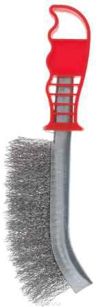 Купить Корщетка стальная FIT, тип А, цвет: красный