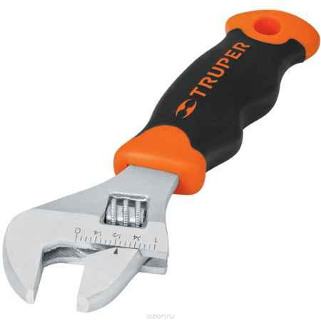 Купить Ключ разводной Truper, с короткой ручкой, 16,5 см