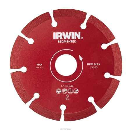 Купить Диск алмазный сегментный Irwin Segmented, сухая резка, 180 / 22,2 мм
