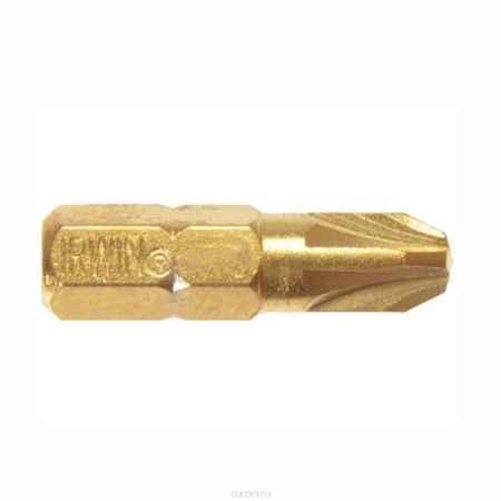 Купить Набор крестовых бит Irwin с титановым покрытием, PZ3 х 25 мм, 10 шт
