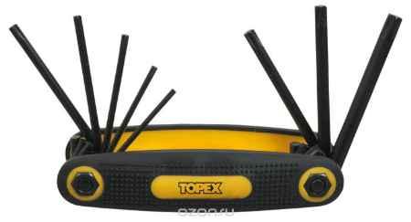 Купить Набор ключей шестигранных Topex, Т9-Т40, 8 шт