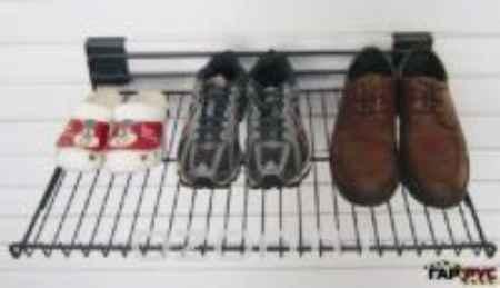 Купить Полка для обуви ГР-023, цвет: красный