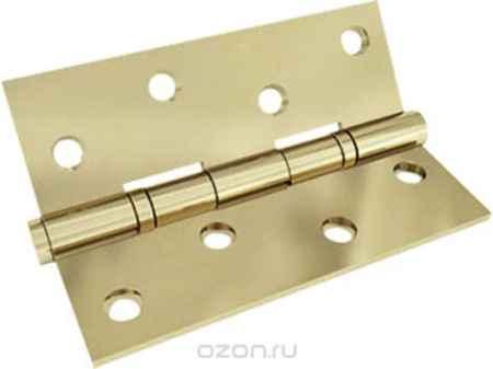 Купить Петля дверная FIT, универсальная, 2 подшипника, цвет: античная бронза, длина 10 см