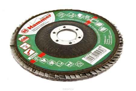 Купить Круг лепестковый торцевой КЛТ Hammer Flex 213-008 125 Х 22 Р 60 тип 2