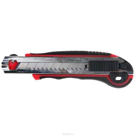 Купить Нож технический FIT, 5 запасных лезвий, 18 мм
