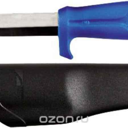 Купить Нож строительный Morakniv в чехле, цвет: синий