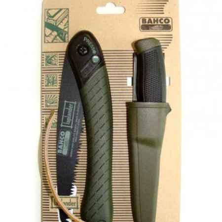 Купить Набор ножовка по дереву и нож Bahco