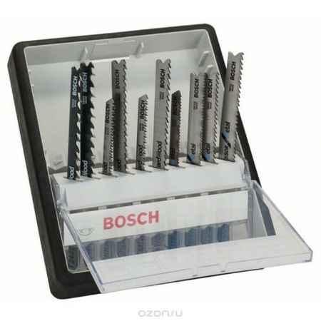Купить Набор пилок по металлу и дереву Bosch, Т-образный хвостик, 10 шт
